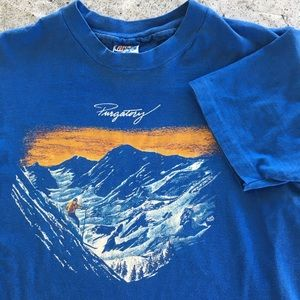 Vintage Purgatory ski resort shirt size medium